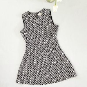 Sans Souci   Houndstooth Fit and Flare Dress